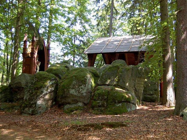 Lesní kaple u zámku Kynžvart