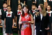 Dětský soubor z Číny nadchl publikum v Mariánských Lázních.