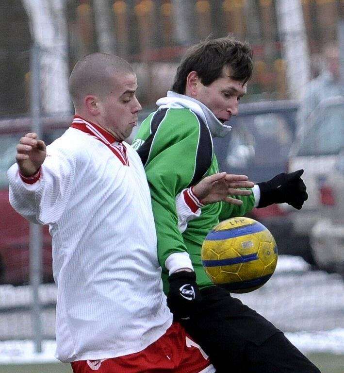 Zimní fotbalový turnaj ve Františkových Lázních - zápasy druhého kola