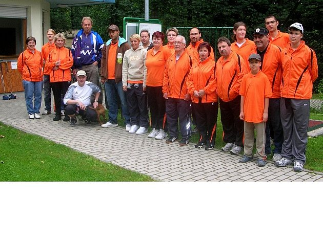 Na chebském hřišti TJ MTG Cheb se konal maraton v monigolfu s mezinárodní účastí