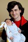TOBIÁŠ ZEMIANEK si poprvé prohlédl svět v pondělí 3. dubna v 12.49 hodin. Při narození vážil 4 160 gramů. Doma v Milhostově se z malého Tobiáška těší maminka Kateřina a tatínek Patrik.