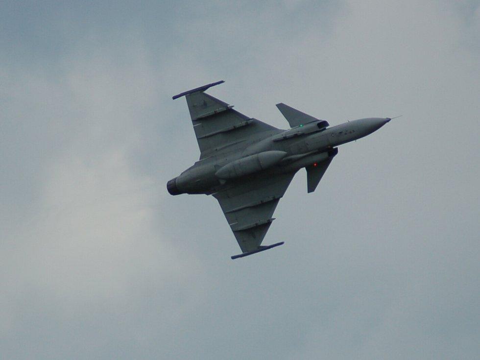 Letecký den v Chebu. Sobota 23. srpna.