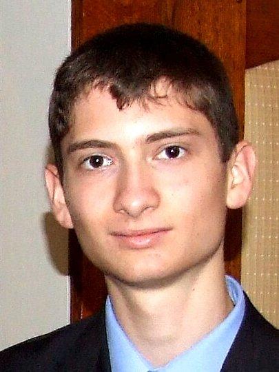 Student Michal Býna
