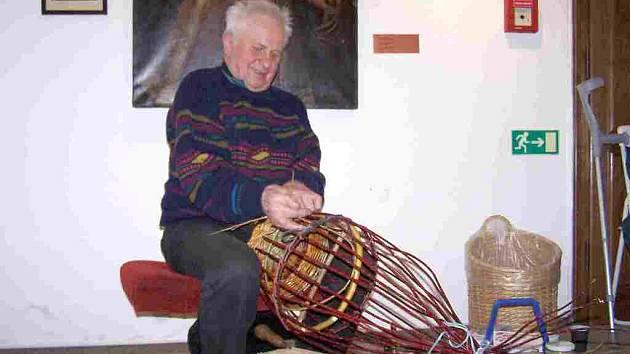 Košíkář Jiří Jíra z Nového Kostela