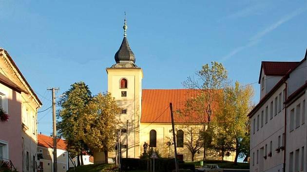 Kostel sv. Michaela v Dolním Žandově