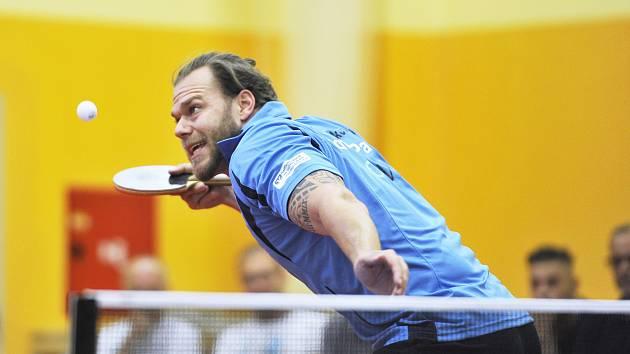 Tomáš Pavelka přispěl k vítězství františkolázeňského týmu na hřišti v Ostravě dvěma vítěznými duely.