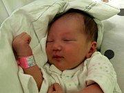 ELIŠKA PLESKOTOVÁ se narodila ve čtvrtek 25. února v 19.20 hodin. Při narození vážila  3 030 gramů a měřila 46 centimetrů. Doma v Chebu se z malé Elišky raduje maminka Michaela s celou rodinou.