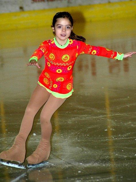 JEDNU  zlatou medaili získala mezi nováčky B pro SKK Cheb Tereza Brožová.