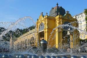 Zpívající fontána.
