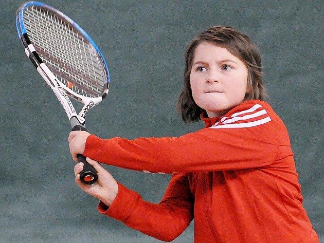 Mladší žákyně bojovaly o tenisové tituly