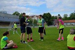 Fotbalistky Hvězdy Cheb vítězné