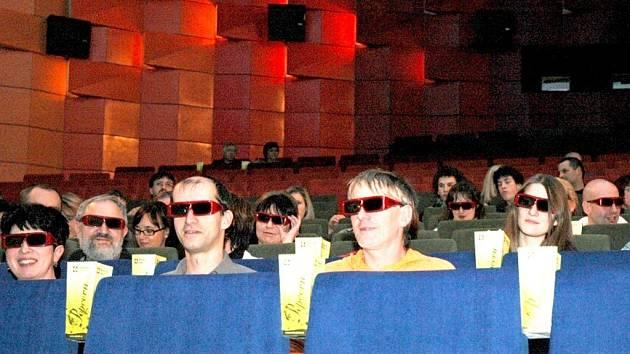 Vysílání v sokolovském kině