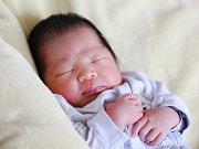 HOANG MINH TIEN se narodil v úterý 1. března v 9.55 hodin. Na svět přišel s váhou 3 820 gramů a mírou 51 centimetrů. Z malého synka se těší doma v Chebu sestřička Hoang Gia Linh, maminka Thi Hai Ha spolu s tatínkem Tuan.
