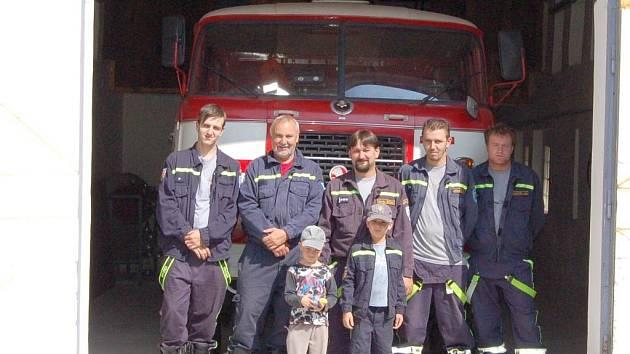 Dobrovolní hasiči z Milíkova