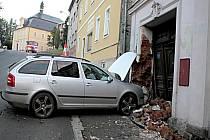 Nehoda v Teplé.