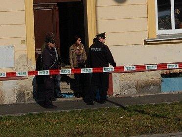 V chebské ulici 26. dubna došlo k násilnému trestnému činu.