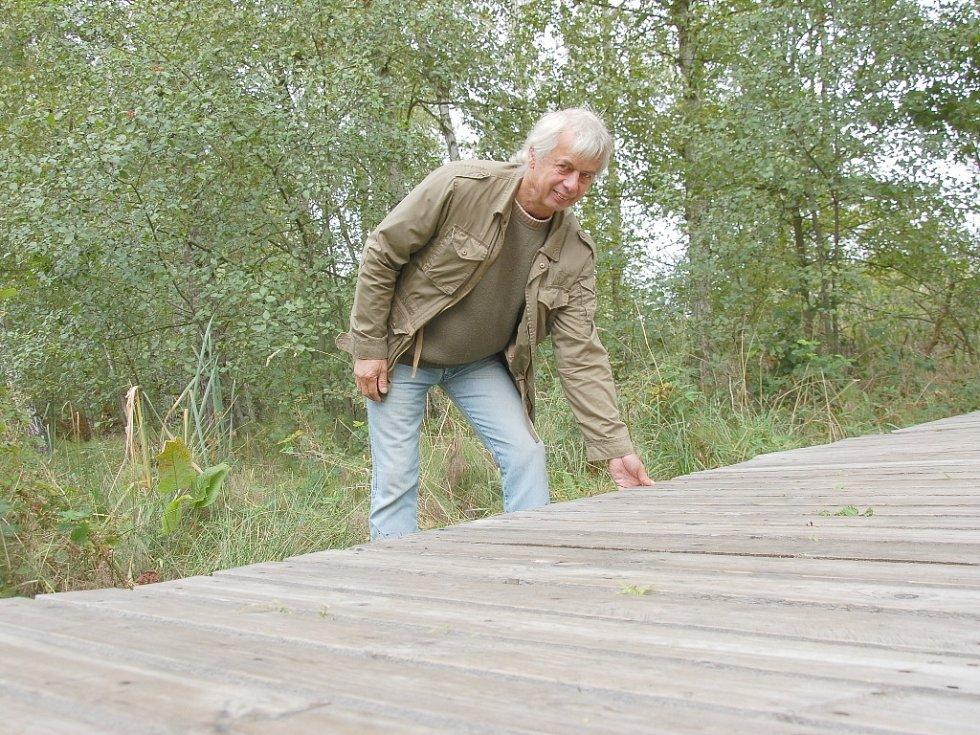 Unikátní státní přírodní rezervace Soos u Františkových Lázní je opět o něco atraktivnější.