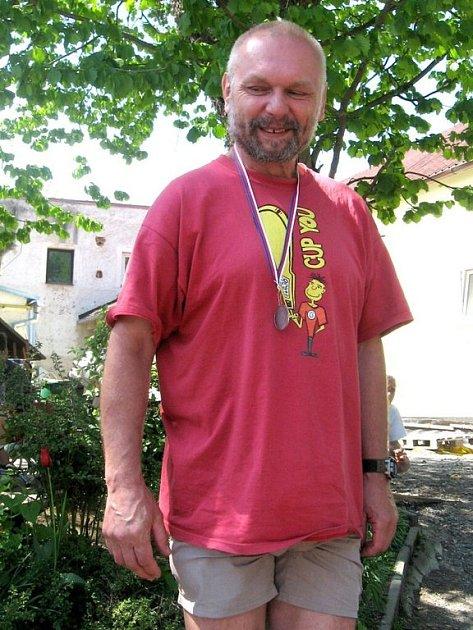 Dvě medaile z oblastních přeborů vybojoval Václav Chotětický z Aše.