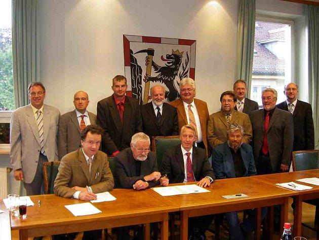 Čeští a němečtí starostové se sešli na společném jednání v Arzbergu