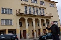 Budova bývalého kina v Aši