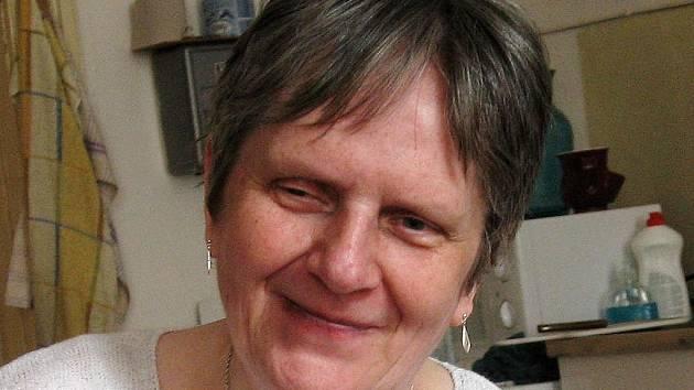 Božena Hrazdilová, ,59letá nevidomá Chebanka
