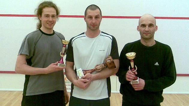 Vítězové vánočního turnaje ve squashi ve Stříbře na Tachovsku
