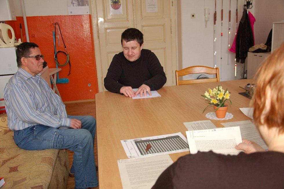 Soutěž ve čtení a psaní Braillova písma