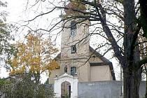 Kostel v Nebanicích.