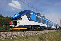 Jedna z vlakových souprav, která bude zajíždět i na Chebsko.