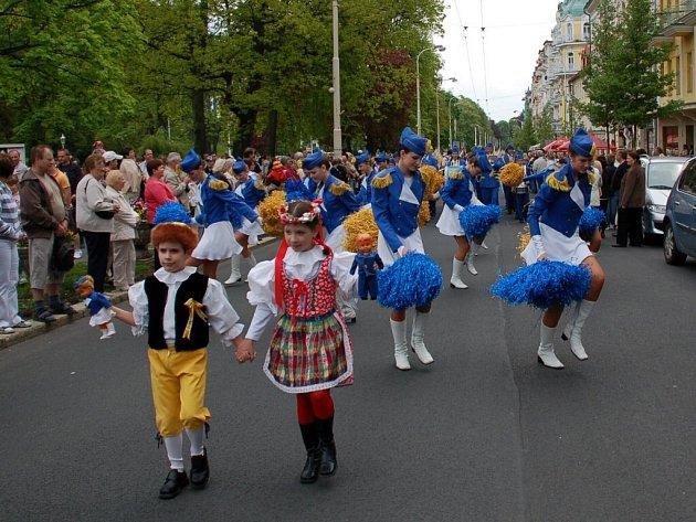 Mariánské Lázně v sobotu 9. května vstoupily do 201. lázeňské sezóny