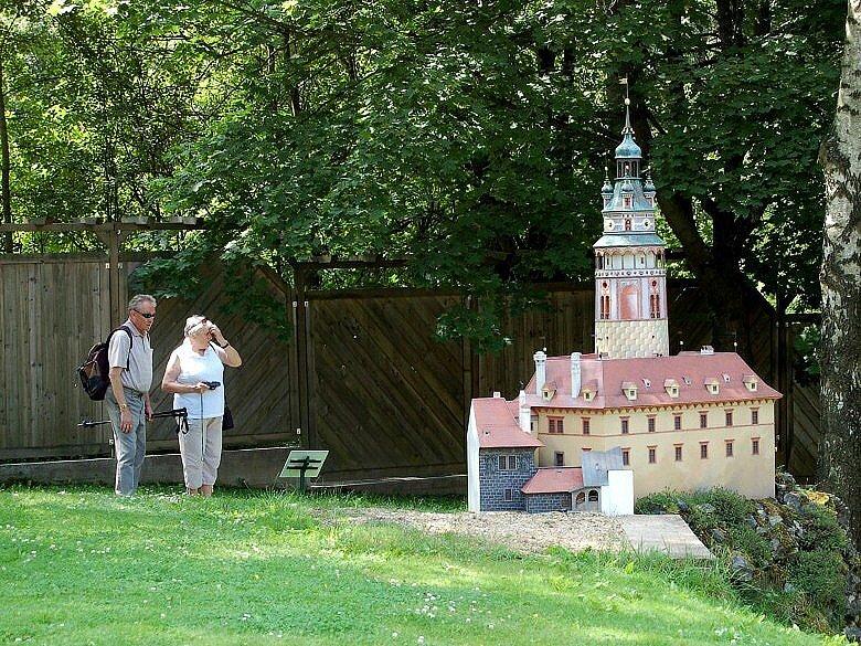 Miniaturpark Mariánské Lázně  - Český Krumlov