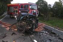 Vážná dopravní nehoda u Drmoulu