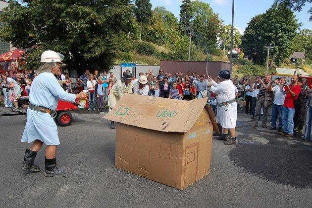 Oslavy 140. let hasičského sboru v Hranicích u Aše