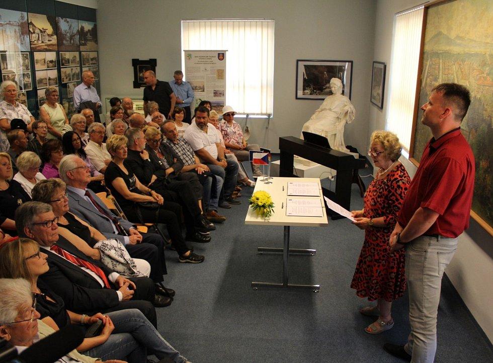Města Bad Soden a Františkovy Lázně oslavila 25. let svého výročí spolupráce.