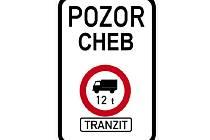 Do Chebu možná již v září nebudou moct vjet jiné kamiony, než ty se zásobováním. Město totiž pracuje na zákazu tranzitní kamionové dopravy.