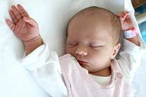 SOFIE IMAMOVIČ bude mít v rodném listě datum narození úterý 23. srpna, 9.36 hodin. Na svět přišla s váhou 2 600 gramů a mírou 49 centimetrů. Maminka Pavla a tatínek Daniel se radují z malé Sofinky doma v Chebu.