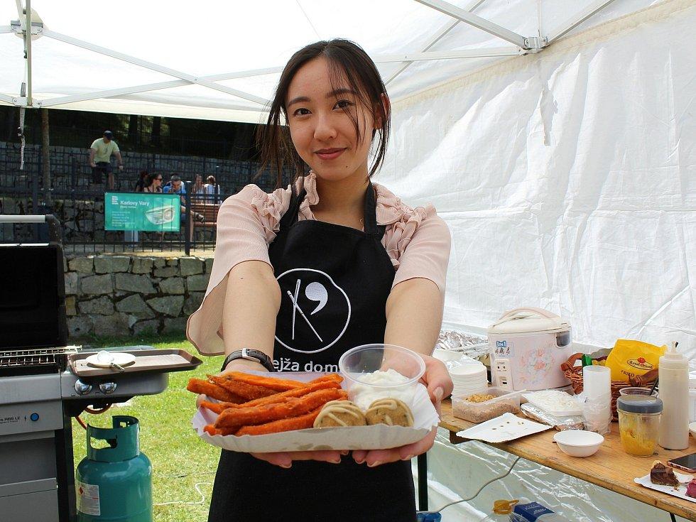 Na Krajince v Chebu se konal druhý ročník festivalu vína a jídla.