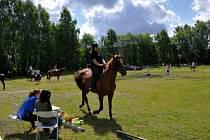 Akce pro mladé jezdce v Kopaninách u Aše