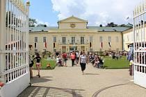 Zahradní slavnosti v Lázních Kynžvartu přilákaly stovky lidí.