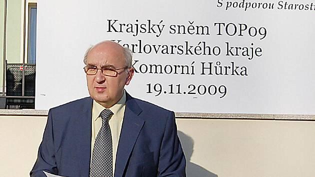 Josef Malý stanul v kraji v čele TOP 09.