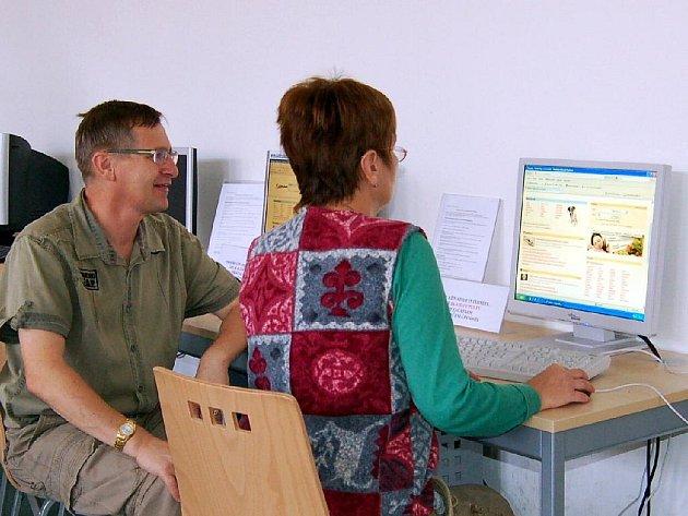 Knihovna v Chebu uspořádala další internetový kurz