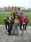Mariánskolázeňští zvítězili v kategorii mladšího žactva HD12 před Nejdkem a Lokomotivou Plzeň