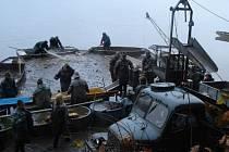 Počet ryb nižší a ceny za kilo rybího českého masa vyšší. Taková je aktuální situace letošních výlovů ryb v okolí Mariánských a Františkových Lázní.