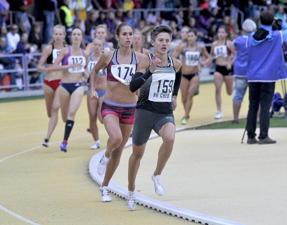 Velká cena Chebu v atletice přinesla na zlaté dráze opět skvělé výkony