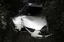 Dopravní nehoda u Drmoulu.