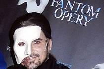 Radim Schwab v masce Fantoma.