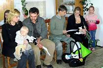 Své nově narozené občánky pravidelně vítají také v obci Pomezí nad Ohří. Naposledy přibyli do řady místních obyvatel Jan Syvala a Jan Matějovic.
