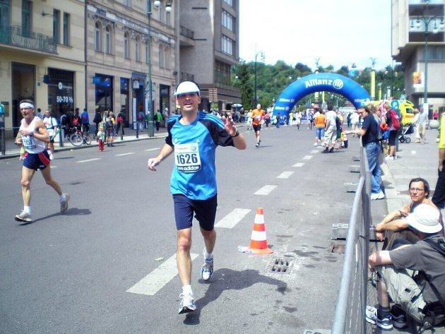 Studenti chebského gymnázia se zúčastnili pražského maratonu