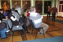 Další přednáška z cyklu Z Chebu křížem krážem přilákala do Muzea Cheb desítky hostů