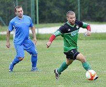 V Lubech se utkali místní fotbalisté s hokejisty karlovarské Energie